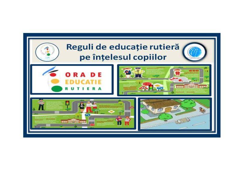 Reguli de educație rutieră pe înțelesul copiilor