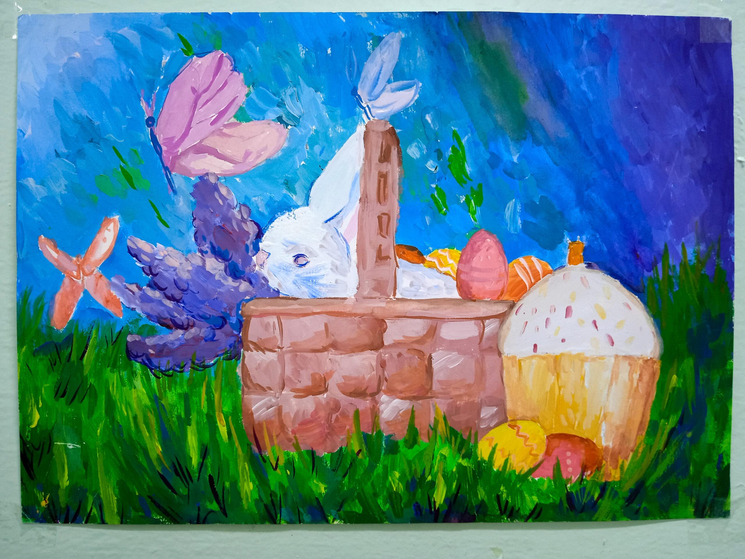 """Expoziția pascală de pictură a elevilor de la CCC """"Luceafărul"""""""