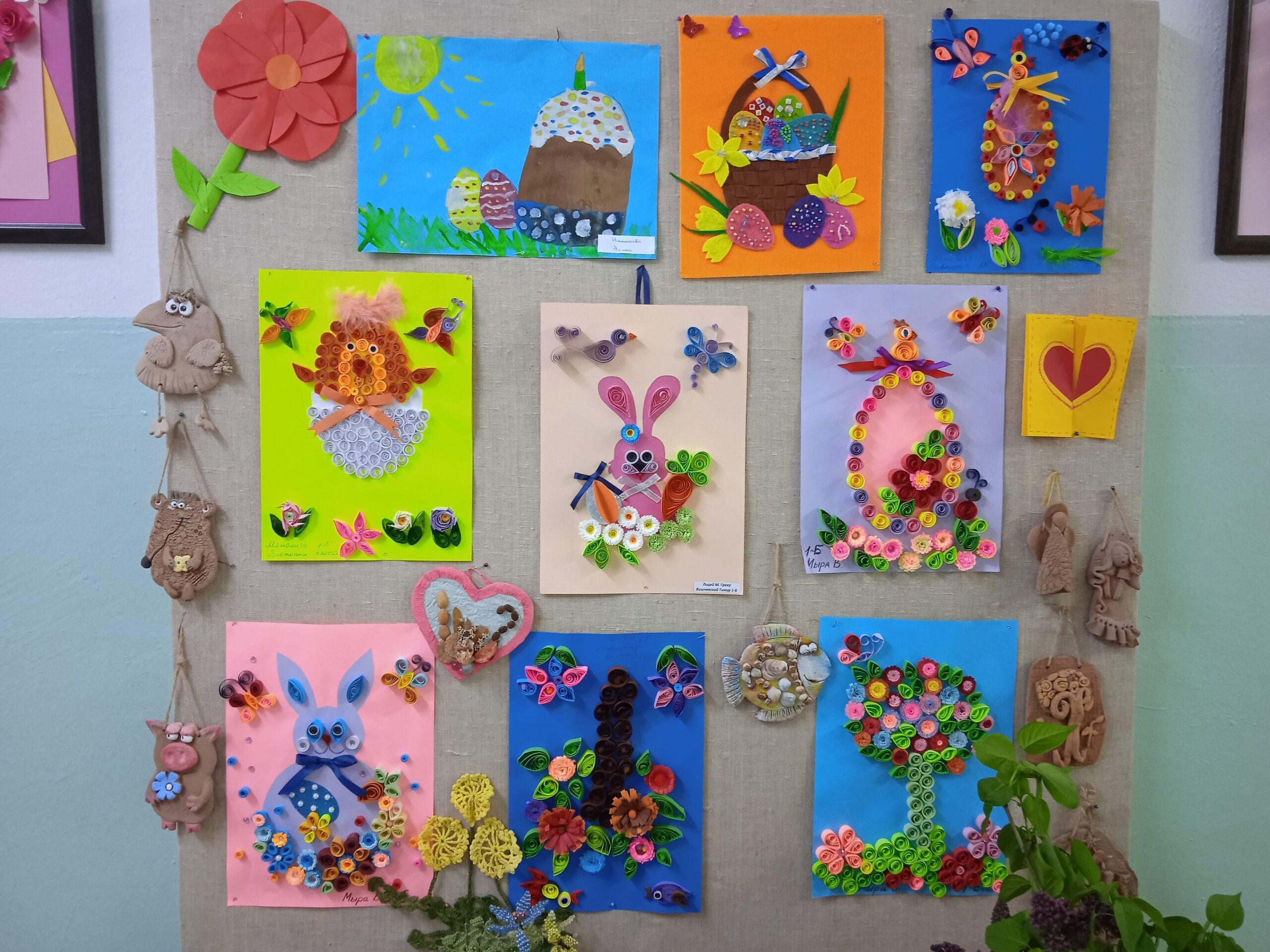 """Expoziția pascală de artă decorativă a CCC """"Luceafărul"""""""